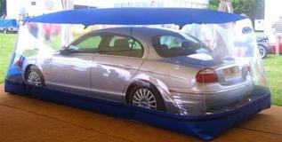 Бизнес-идея: производство надувных конструкций для защиты автомобилей