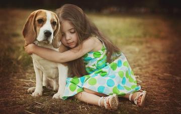 Почему ребенок должен расти с собакой